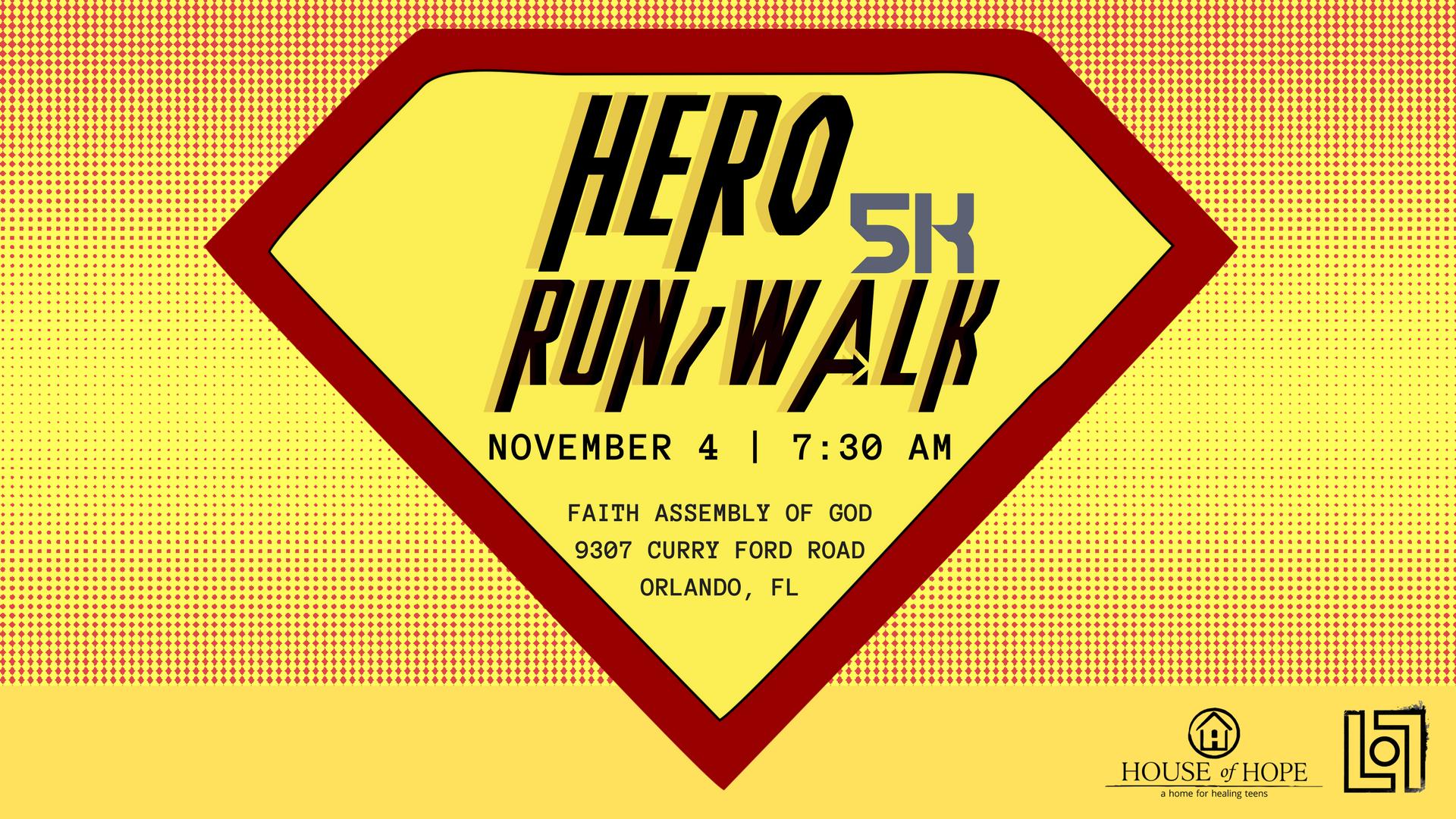Faith Assembly 'Hero 5K Run/Walk'